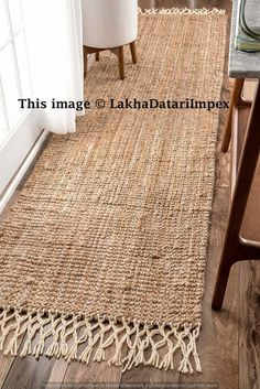 Indian Braided Floor Rug Handmade Jute Rug, Natural Jute Rug Runner, Indian Handmade Handwoven Ribbed Solid Rugs Runner, Beautiful Floor Rug - Care - Skin care , beauty ideas and skin care tips Rug Yarn, Jute Rug, Woven Rug, Burlap Rug, Jute Mats, Braided Rag Rugs, Mandala Rug, Doily Rug, Solid Rugs