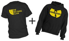 WUTANG TShirt & Hoodie COMBO  You get Both for one by HotterTopic, $24.99