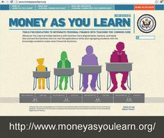 MoneyAsYouLearn.org from the Treasury Department provides ready-made personal finance lessons for K-12 teachers. Via FamZoo.com