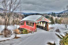 Jackson NH XC Skiing Bridge