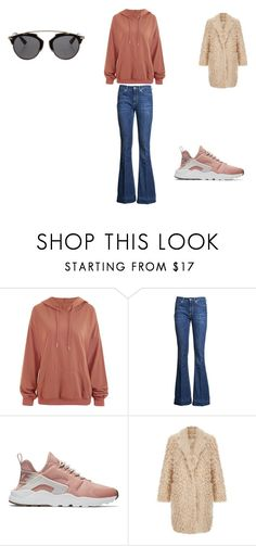 """""""casual"""" by ikatsamaki on Polyvore featuring Dondup, NIKE and Christian Dior"""