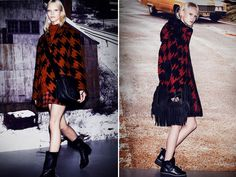 houndstooth fashion - These houndstooth fashion examples range from geometric statement tees to timeless autumn coats that are impeccably tailored in their design. Exudi...