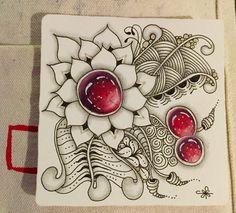 https://flic.kr/p/PyTaRe   Zentangle Gems