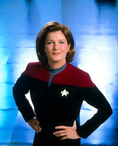 "Star Trek: Voyager...Katherine Kiernan Maria ""Kate"" Mulgrew as Captain Kathryn Janeway"