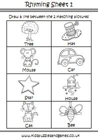 math worksheet : a dozen free rhyming words worksheets from printablekidstuff   : Free Printable Rhyming Worksheets For Kindergarten