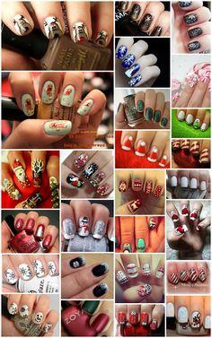 Die 28 schönsten Winter/Christmas Fingernägel ♥ | Diina