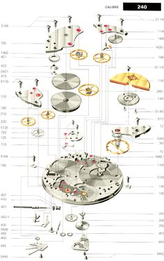 Patek Philippe Discussion Forum: Patek Technical Drawings / Pictures