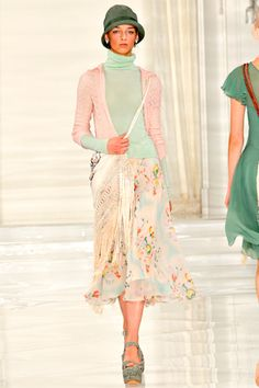Frockage: Ralph Lauren Spring 2012 Ready-to-Wear Collection
