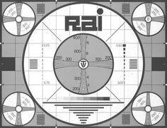 Il monoscopio del canale Nazionale RAI e il suo sibilo Vintage Tv, Vintage Italian, Vintage Posters, Radios, Nostalgia, Radio Antigua, Timeline Design, T 300, Test Card