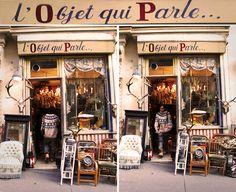 L'objet qui Parle (vintage shop) 86 rue des Martyrs, 18th arrondissement