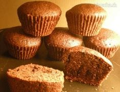 Muffiny najlepšie na svete od KiRi - recept Cupcakes, Cheesecake Brownies, Sweet Cakes, Carrot Cake, Tiramisu, Food And Drink, Yummy Food, Sweets, Cookies