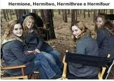Hermione and her understudies...