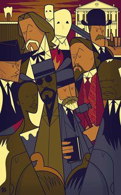 Django Unchained on Behance