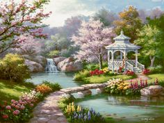 Product Categories Sung Kim | Bentley Licensing Group-Gazebo Blossom