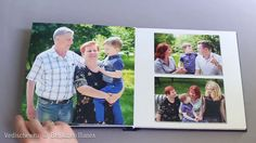 Фотокнига - прогулка семьи и крещение Артема