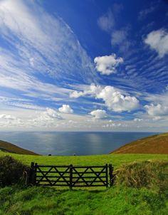 "raindropsonroses-65: ""Gates To Nowhere "" Boscastle, Cornwall, England (by Rich Beghin)"