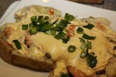 Stuffed Seafood Spuds like McAlisters Deli !