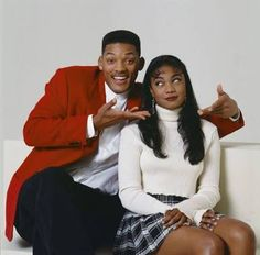 Will Smith & Ashley Banks. Fresh Prince of Bel-Air.