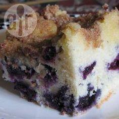 Blueberry Buckle @ allrecipes.co.uk