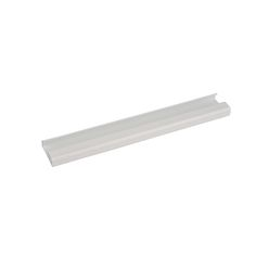 Wall Track has three available colors. It is wall mounted and comes with 6 predrilled holes. It works with C004, C005, R001, R002. Wall Track is a click track rail for art rail system.