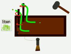 Erbsenkillermaschine (Erbsenbahn für Kindergeburtstage und Feste)