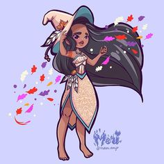 I can finally add a new princess witch to the line-up: Jasmin! And just in time for the new Aladdin Live Action Movie :) The trailer looked… Disney Pocahontas, Disney Girls, Princess Pocahontas, Disney Fan Art, Disney Princess Art, Evil Princess, Sailor Princess, Cosplay Disney, Geeks