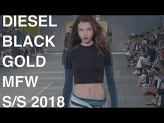 DIARY OF A CLOTHESHORSE: DIESEL BLACK GOLD WOMAN/MAN SPRING SUMMER 2018