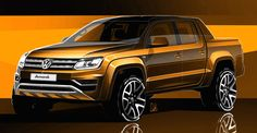 Photo Gallery for the article '2017 Volkswagen Amarok sketches revealed'