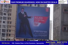 Campaign for Best Deal Tv across mumbai on all premium sites. #campaign #advertising #OOH #marketing #promotion