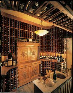 2nd Floor wine cellar - traditional - wine cellar - san diego - Vintage Cellars
