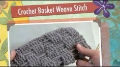 DIY Tutorial: How To Crochet A Basket Weave Stitched Scarf