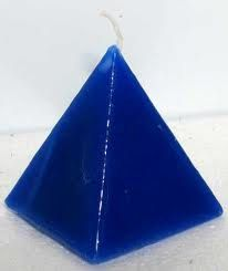 Pyramid Candle by PeerlessCandles on Etsy, $10.00