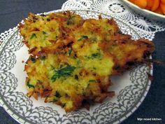 Patates mücveri (Turkse gebakken aardappelkoekjes)