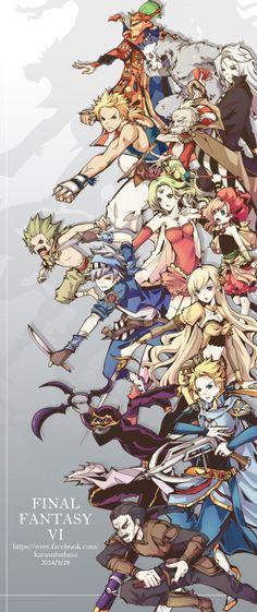 Final Fantasy VI                                                                                                                                                      More