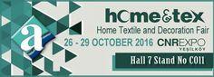 Hometex fair İstanbul 2016