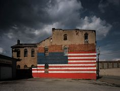 Flag Building. Photo by Michael Eastman