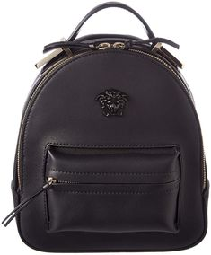 566128d0bc7e Versace Mini Medusa Palazzo Leather Backpack Versace Backpack
