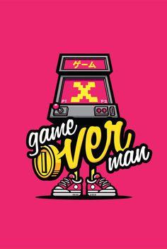 Game Over Man by cronobreaker on deviantART