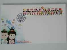 Thai Memorial Postage Stamps First Day Cover Postage Stamp Thailand National Children's Day 2013 Postage Stamps Longest in Thailand by Thai Memorial. $19.12. Thai Memorial Postage Stamps Thailand National Children's Day 2013 Postage Stamps Longest in Thailand the concept for the ASEAN Economic Community, or AEC, which will take place in 2015.  By offering a cartoon boy and girl wearing attire of the 10 countries with national flags in alphabetical sorted, including Brunei, ...