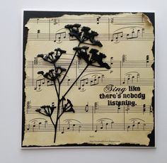 Mrs. B's Crafting Addiction: Music Time at TioT