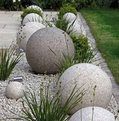 Betonipallo..ja pihalle | Kalliolle kukkulalle