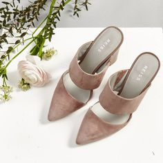 Reiss Cupid Mules