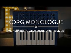 Korg Monologue | Reverb Demo Video - YouTube