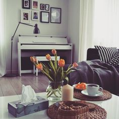 Salon :) #homedecor #salon #livingroom #piano #homesweethome
