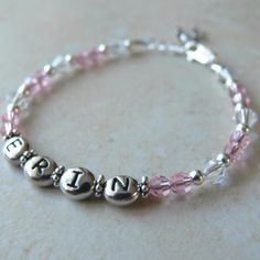 Personalized Infant Bracelet - Just Becuzz Inc.