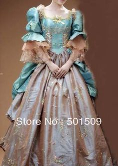 Medieval Renaissance gown france royal court queen princess Reign Costume Victorian Gothic/Marie Antoinette/Colonial Belle Ball-in Costumes & Accessories from Apparel & Accessories on Aliexpress.com