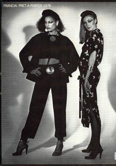 1978 - Saint Laurent Rive Gauche by Francois Lamy for Vogue Italia