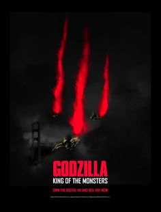 Godzilla Franchise, Rey, Digital, Movies, Movie Posters, Monsters, Films, Film Poster, Cinema