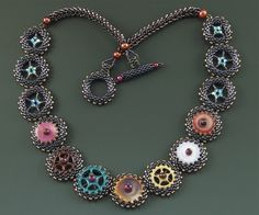 All Geared Up Necklace Pattern Laura McCabe