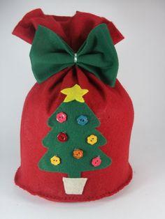 Christmas Gift Bags, Cheap Christmas, Diy Home Crafts, Christmas Crafts, Christmas Ornaments, Felt Decorations, Christmas Decorations, 242, Diy Weihnachten